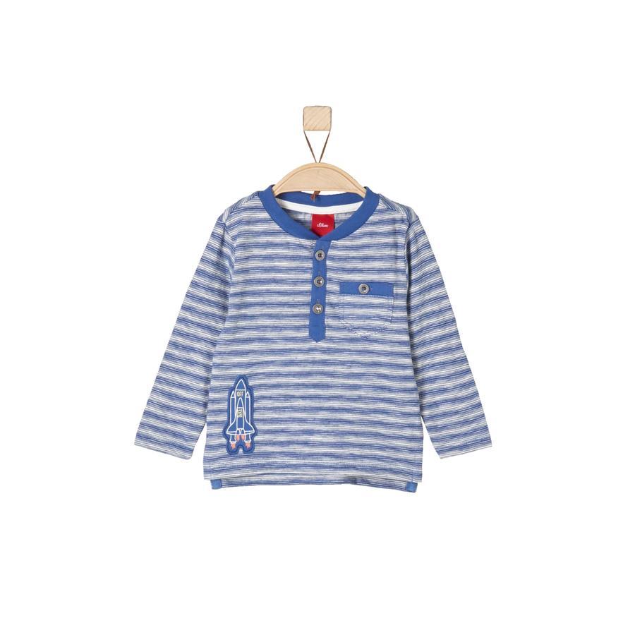 s.Oliver Långärmad tröja blue stripes