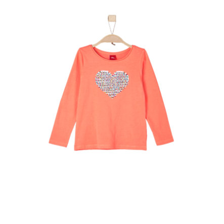 s.Oliver Girls Longsleeve orange