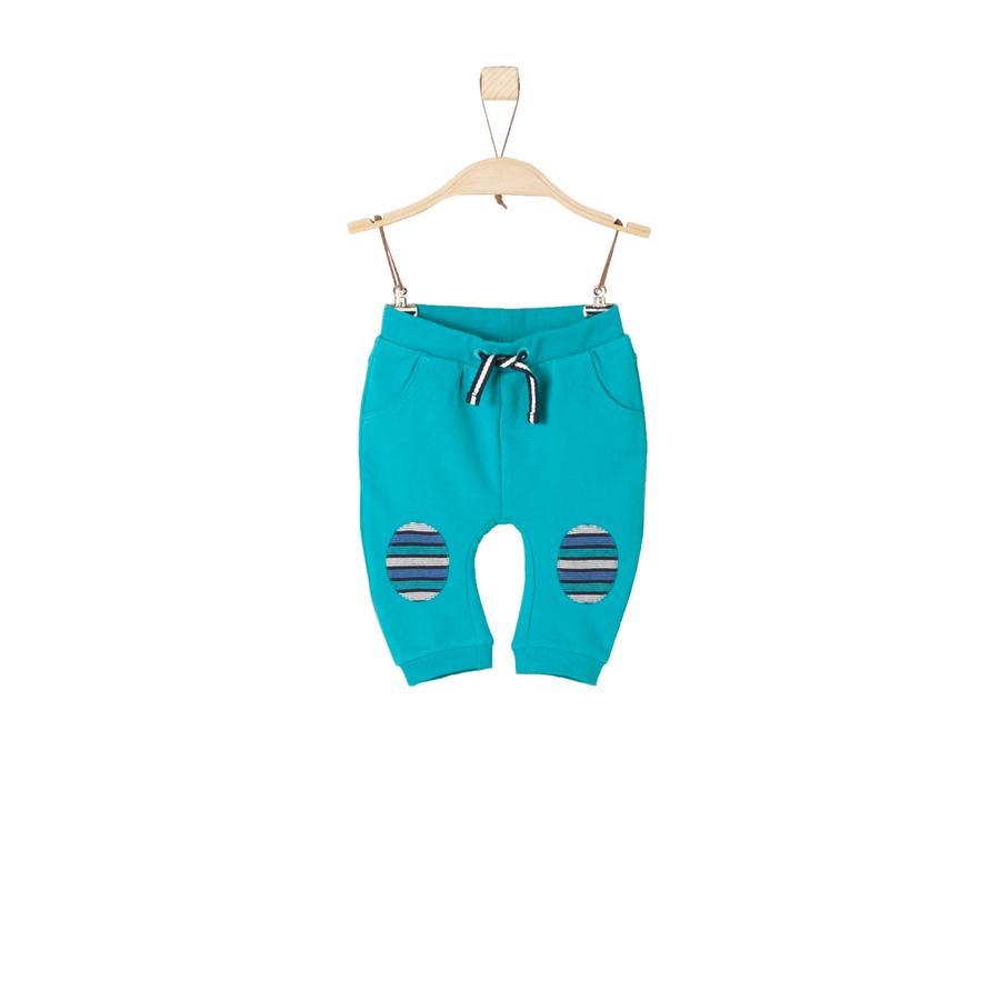 s.Oliver Boys Pantalon de survêtement turquoise