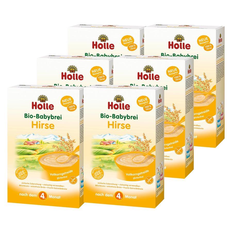 HOLLE Bio Baby Mash Millet 6x250g