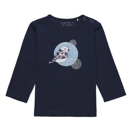 ESPRIT Overhemd met lange mouwen - grasparkiet met lange mouwen