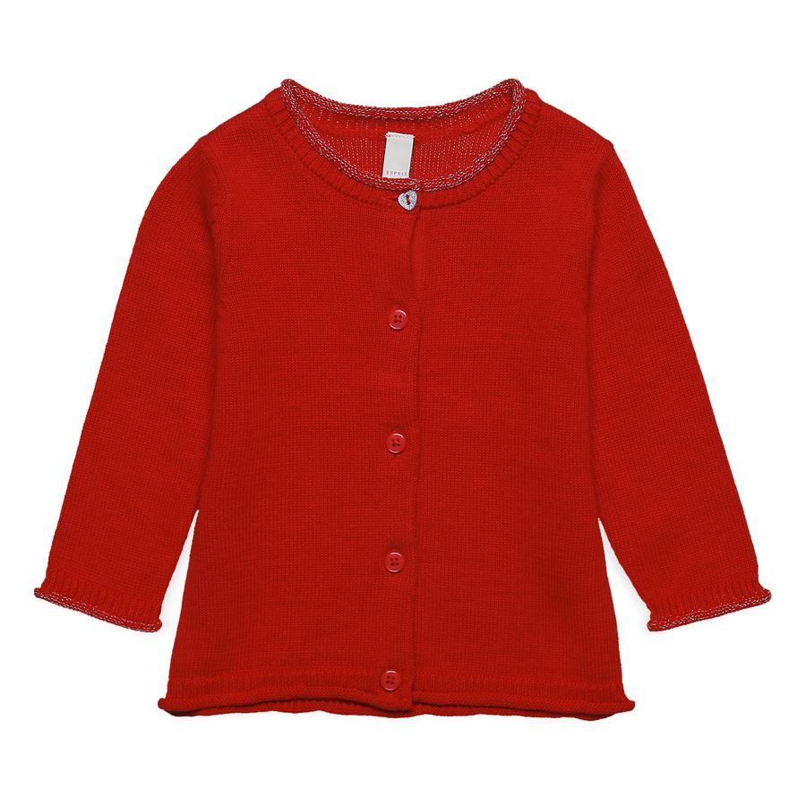 ESPRIT Girl s Cardigan Red