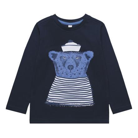 ESPRIT Koszula z długim rękawem niedźwiedzia marynarki wojennej