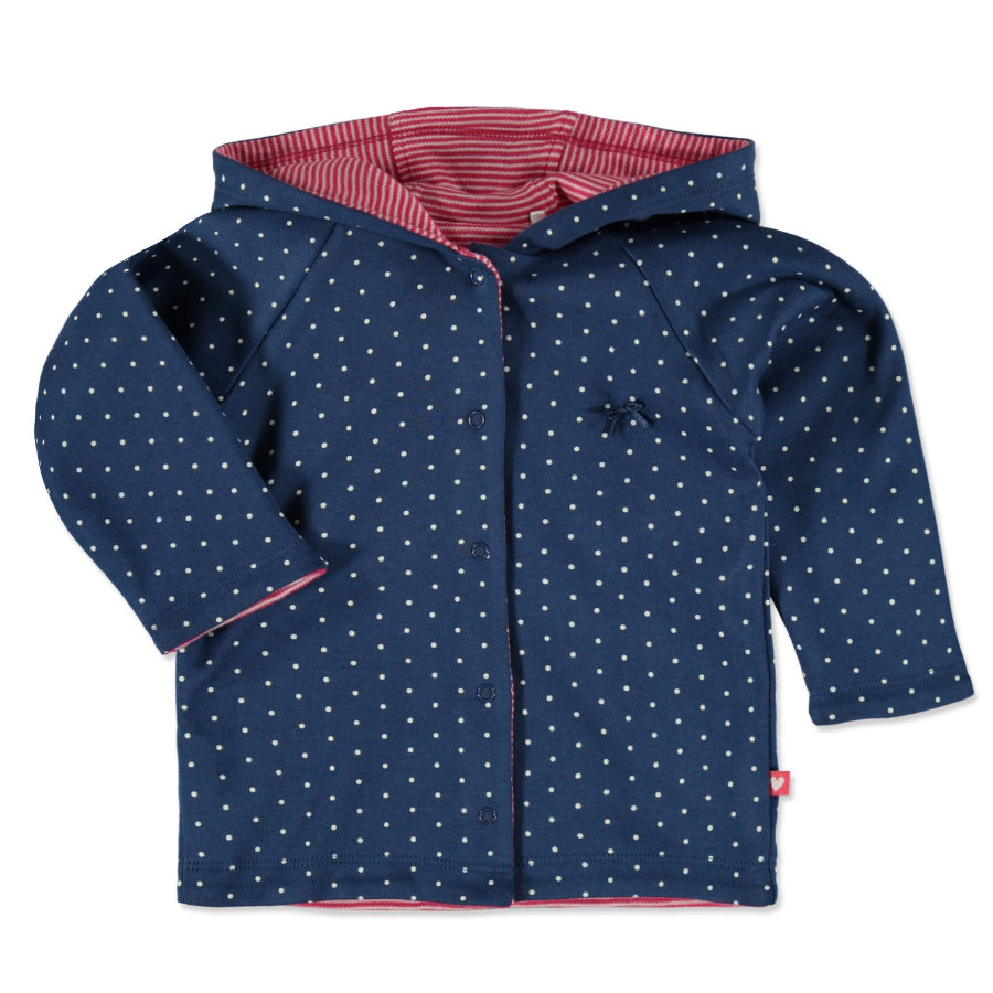 STACCATO Girls Wendejacke jeans blue dots