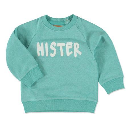STACCATO Boys Sweatshirt dark mint melange Mister Robot
