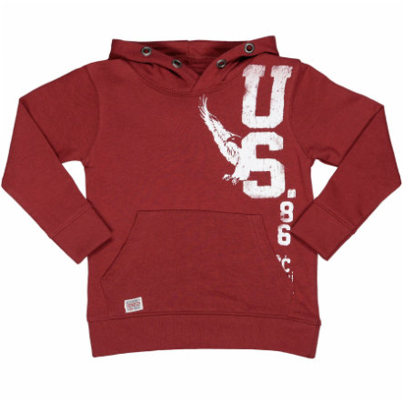 STACCATO Boys Kapuzensweatshirt red