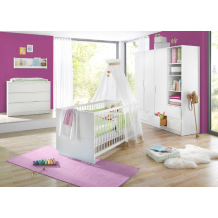 Geuther Kinderzimmer Fresh 3-türig weiß