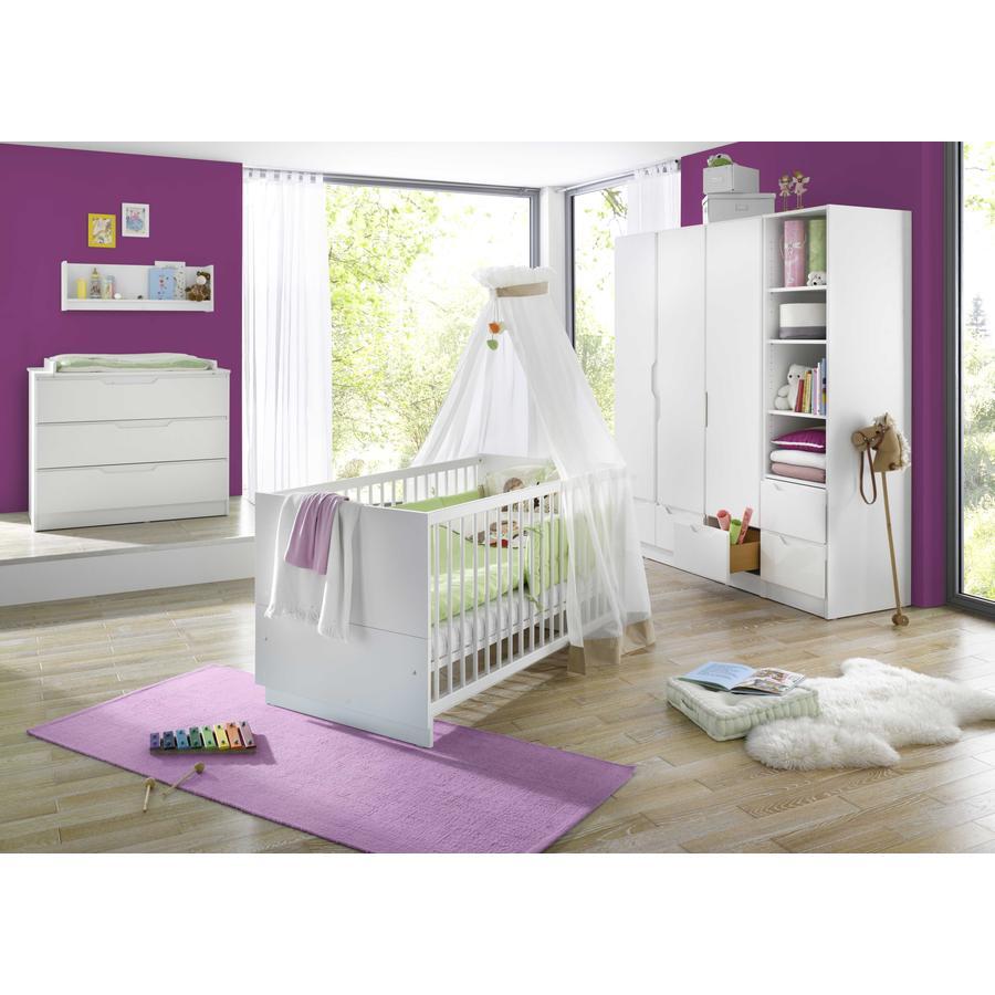 Geuther Pokój dziecięcy Fresh 3-drzwiowy biały