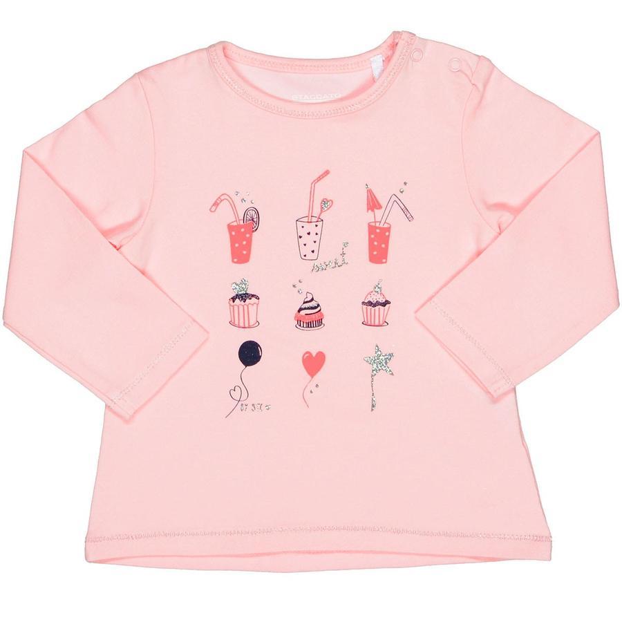 STACCATO Girls Shirt powder Glitzer