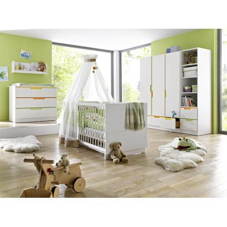 GEUTHER Lastenhuone Fresh 3-ovinen, Värikäs