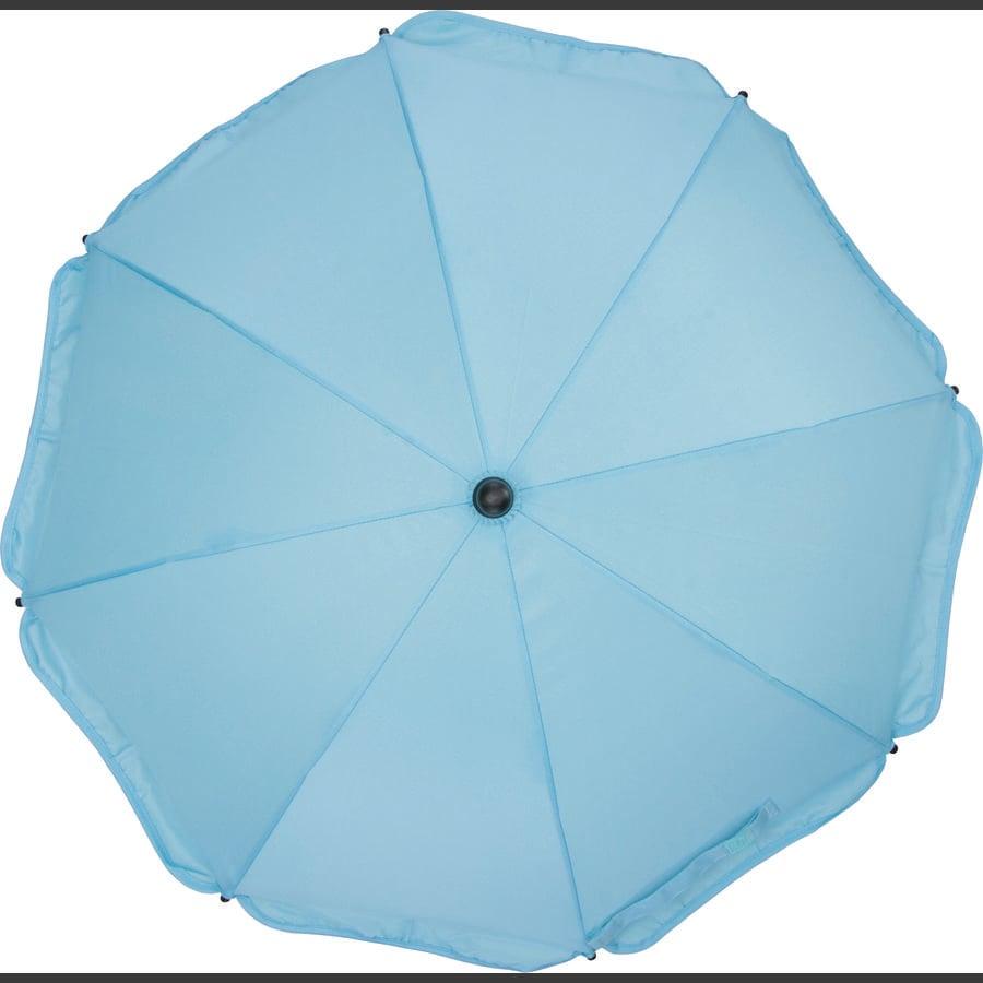 fillikid Slunečník s oválnou spodní částí světle modrý