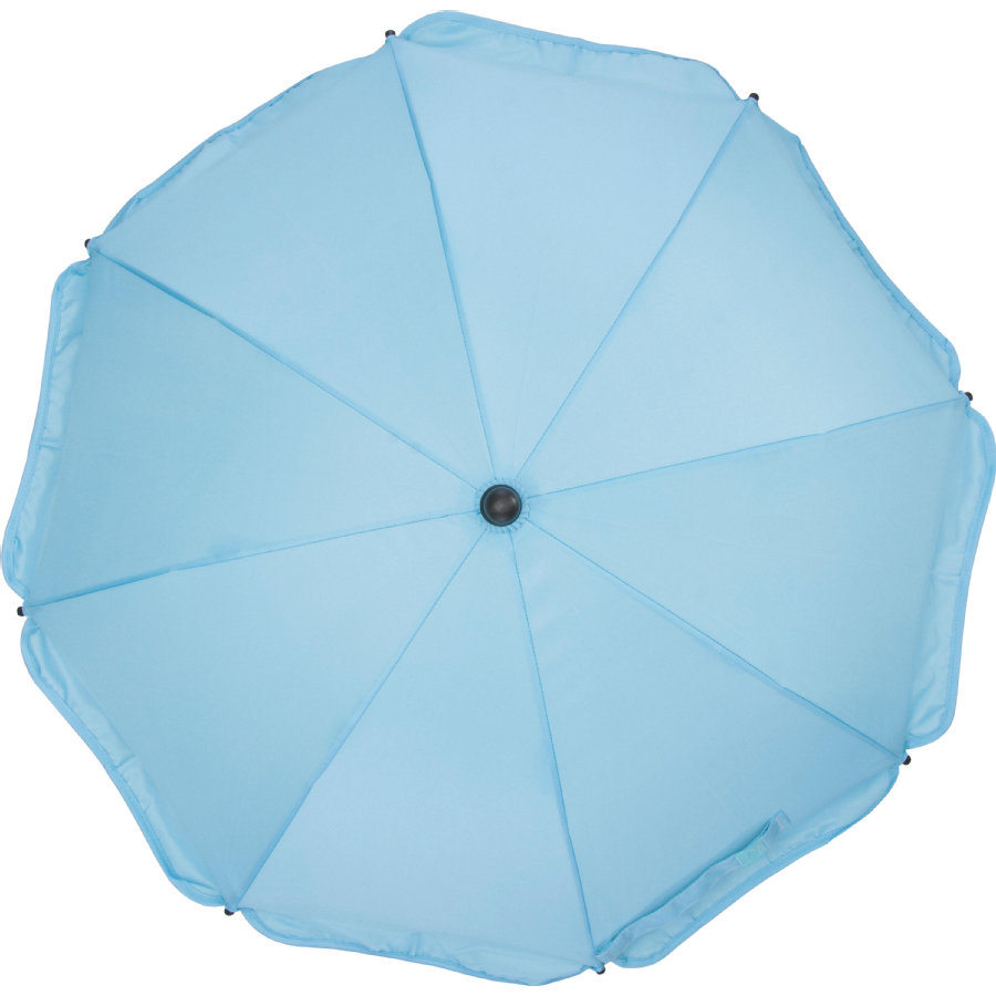 fillikid Solskærm med oval underdel lyseblå