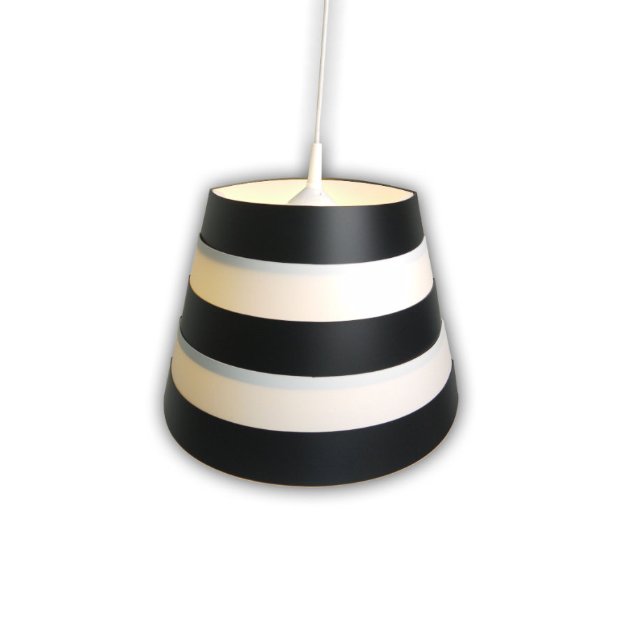 niermann Standby Pendellampa Bella black & white