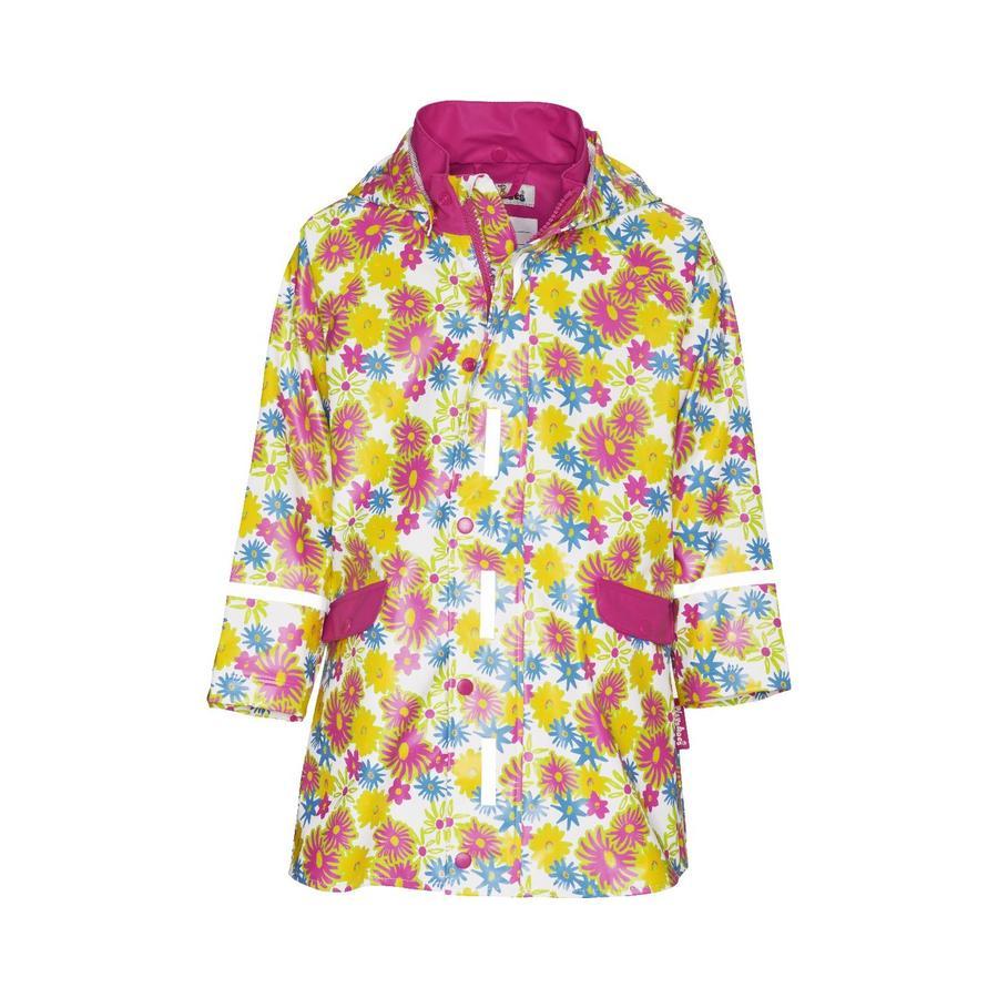 Playshoes Veste de pluie enfant Fleurs