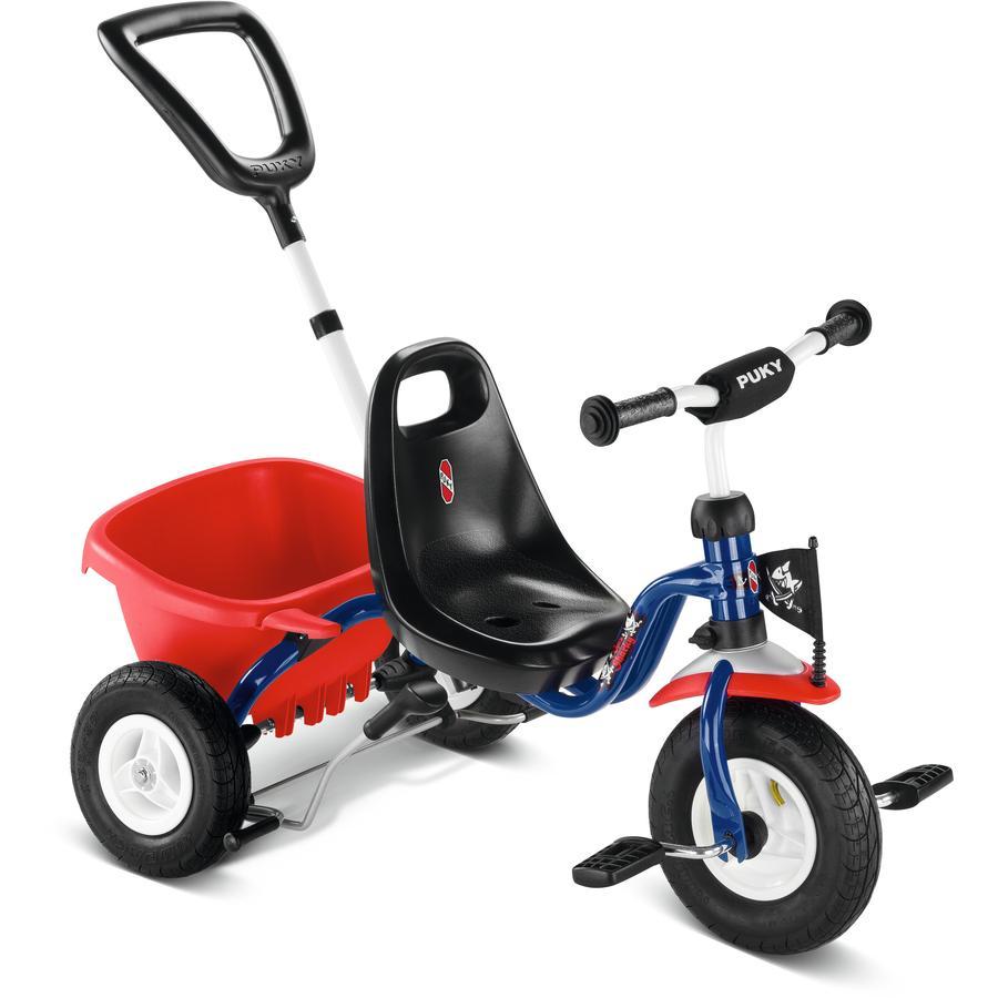 PUKY® Trehjulsykkel med tippeplan CAT 1L lufthjul Capt`n Sharky 2378