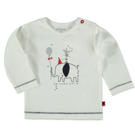 STACCATO Boys Shirt offwhite Elefant