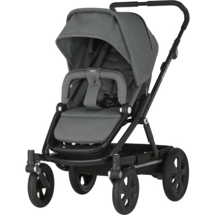 Britax Kinderwagen Go Big Steel Grey Gestellfarbe Black