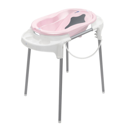 Rotho Babydesign Badestation TOP tender rosé perl