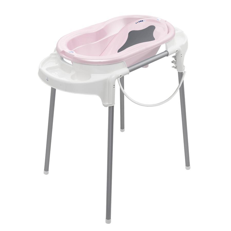 Rotho Babydesign Estación de baño TOP rosé perl