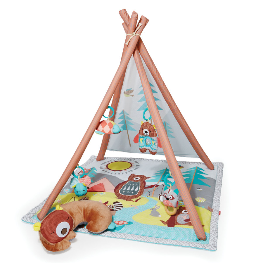SKIP HOP Camping Cubs Lagerfeuer Aktivitäten Spieldecke