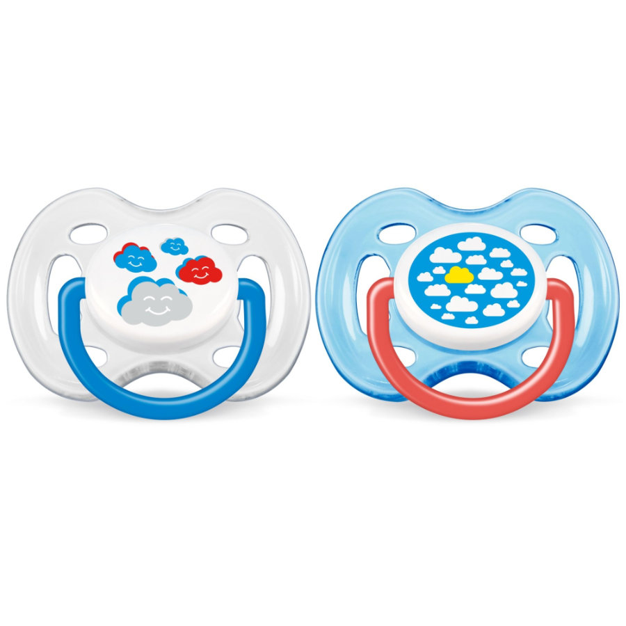 AVENT/PHILIPS Silicone Classic Soother / Pacifier 0-6m SCF 172/18 BPA Free - Boys