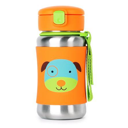 SKIP HOP Zoo- Rustfristål Drikkedunk Hund