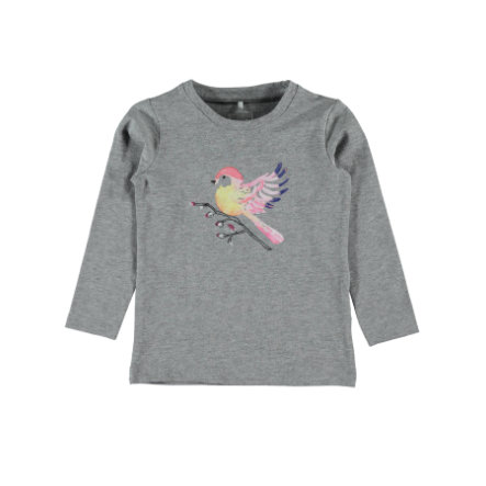 name it Girls Longsleeve Dugla grey melange