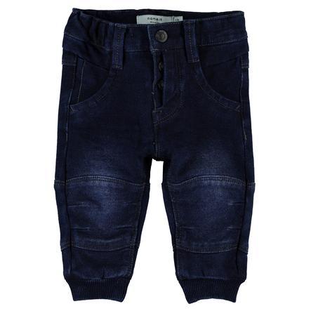 name it Boys Jeans Anton dark blue denim
