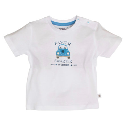 SALT AND PEPPER Boys T-Shirt Wohnwagen white