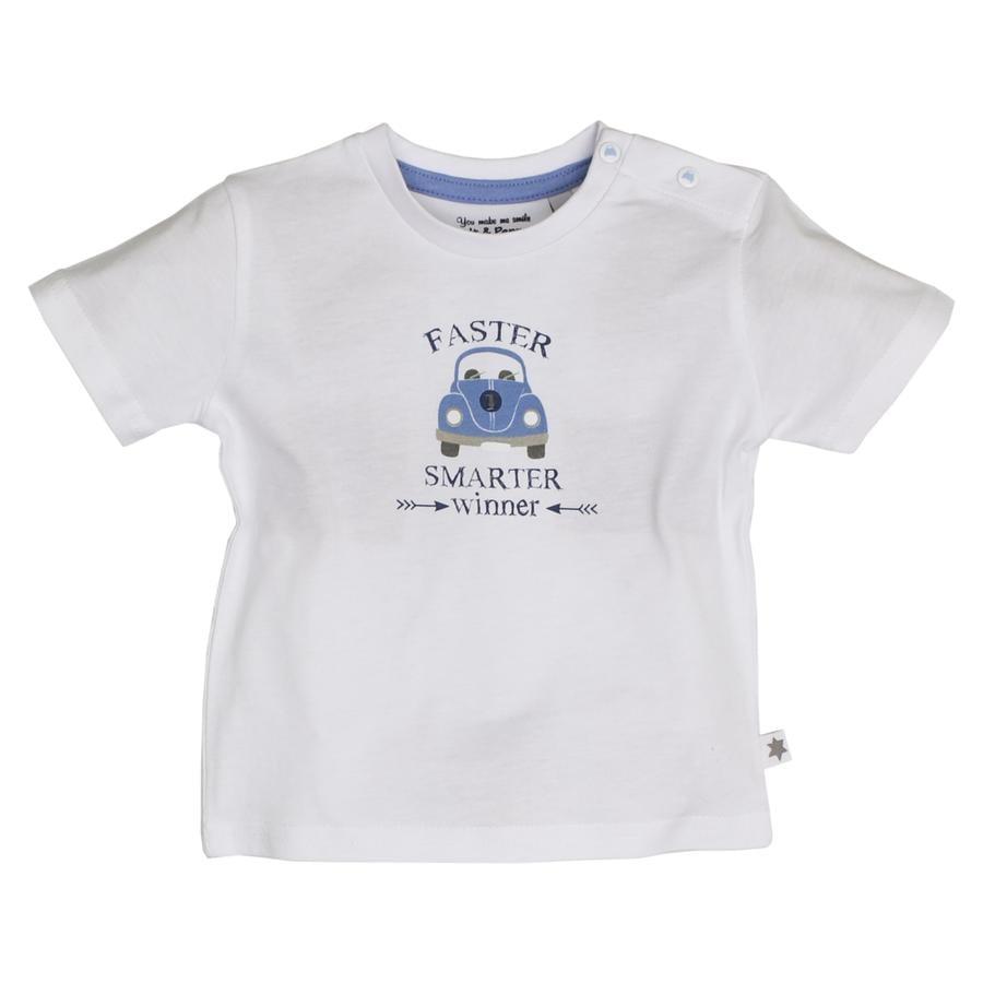 SALT AND PEPPER Boys T-Shirt Caravan wit