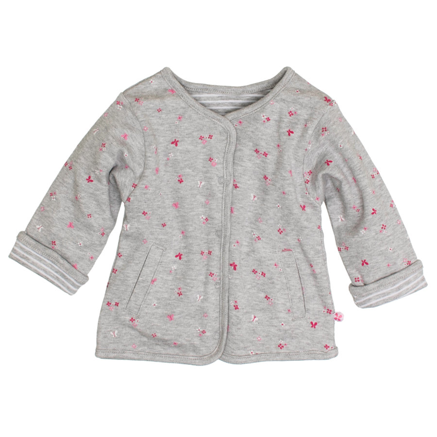 SALT AND PEPPER Girls Wendejacke grey melange