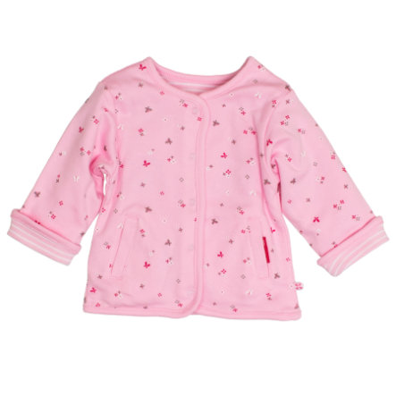 SALT AND PEPPER Girl s veste réversible rosé