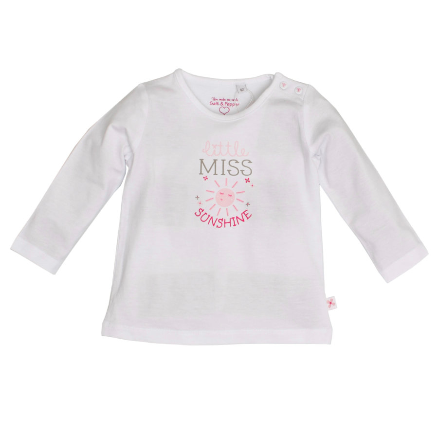 SALT AND PEPPER Girls Longsleeve sunshine rosé