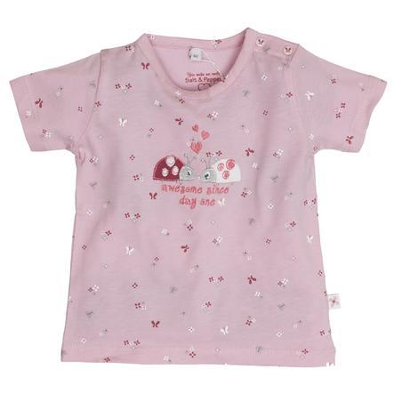 SALT AND PEPPER Girl s T-Shirt Lieveheersbeestje rosé