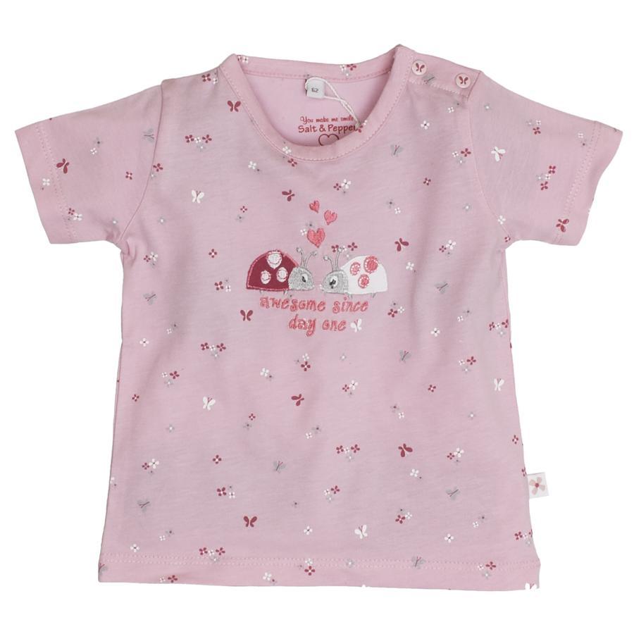 SALT AND PEPPER Girl s T-Shirt Coccinelle rosé