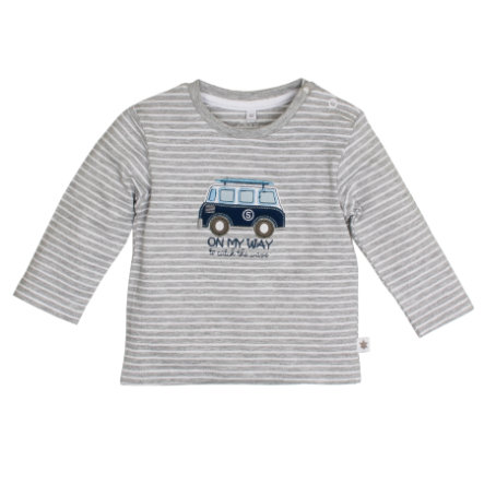 SALT AND PEPPER Boys Longsleeve Ringel grey melange