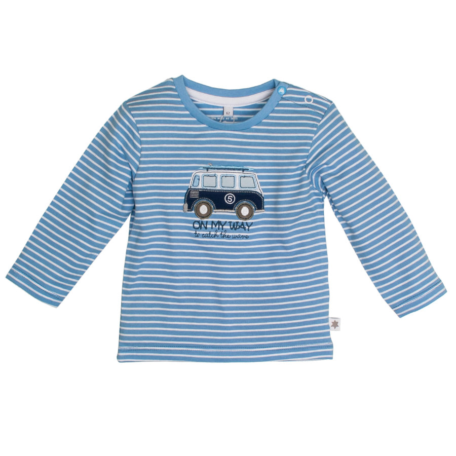 SALT AND PEPPER Boys Longsleeve Ringel sky blue