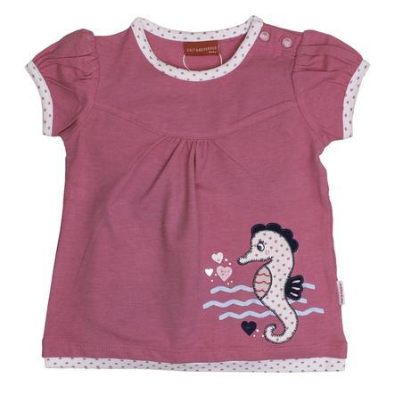 SALT AND PEPPER Girls T-Shirt Seepferdchen candy pink