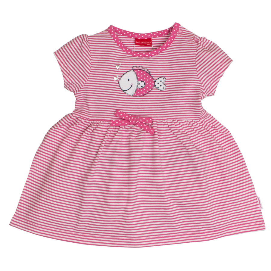 SALT AND PEPPER Girls Kleid Fisch candy pink