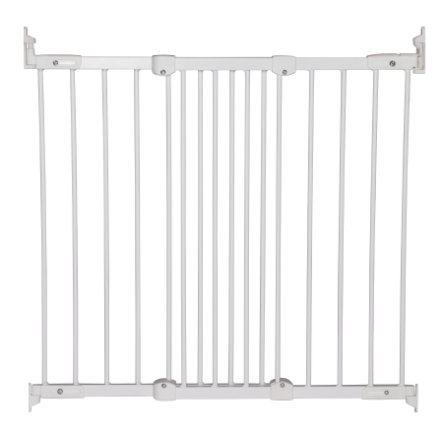 Baby Dan Flexi Fit Metal Puerta de seguridad blanca