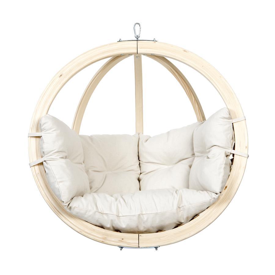 AMAZONAS Globo Chair, sfera sospesa, beige
