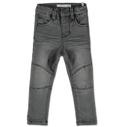 name it Girl s Telsa jeans gris medio denim