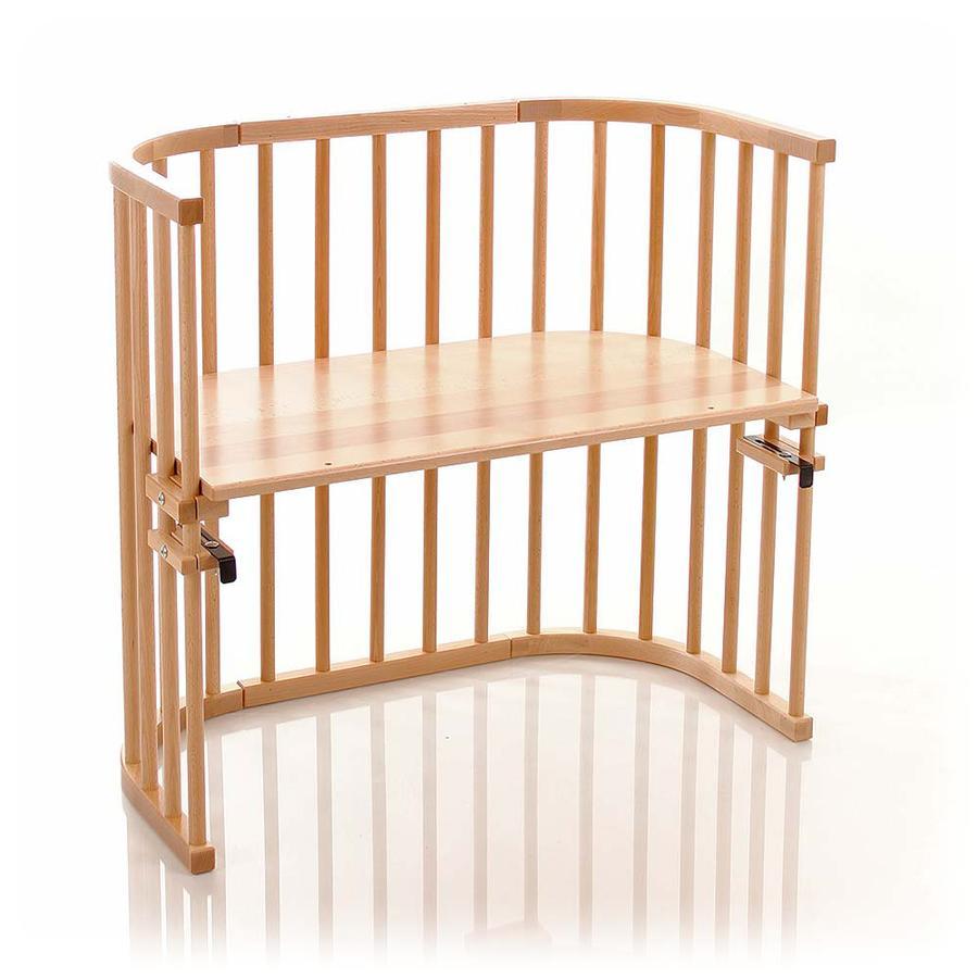 TOBI Babybay origineel bed beukenhout massief naturel gelakt