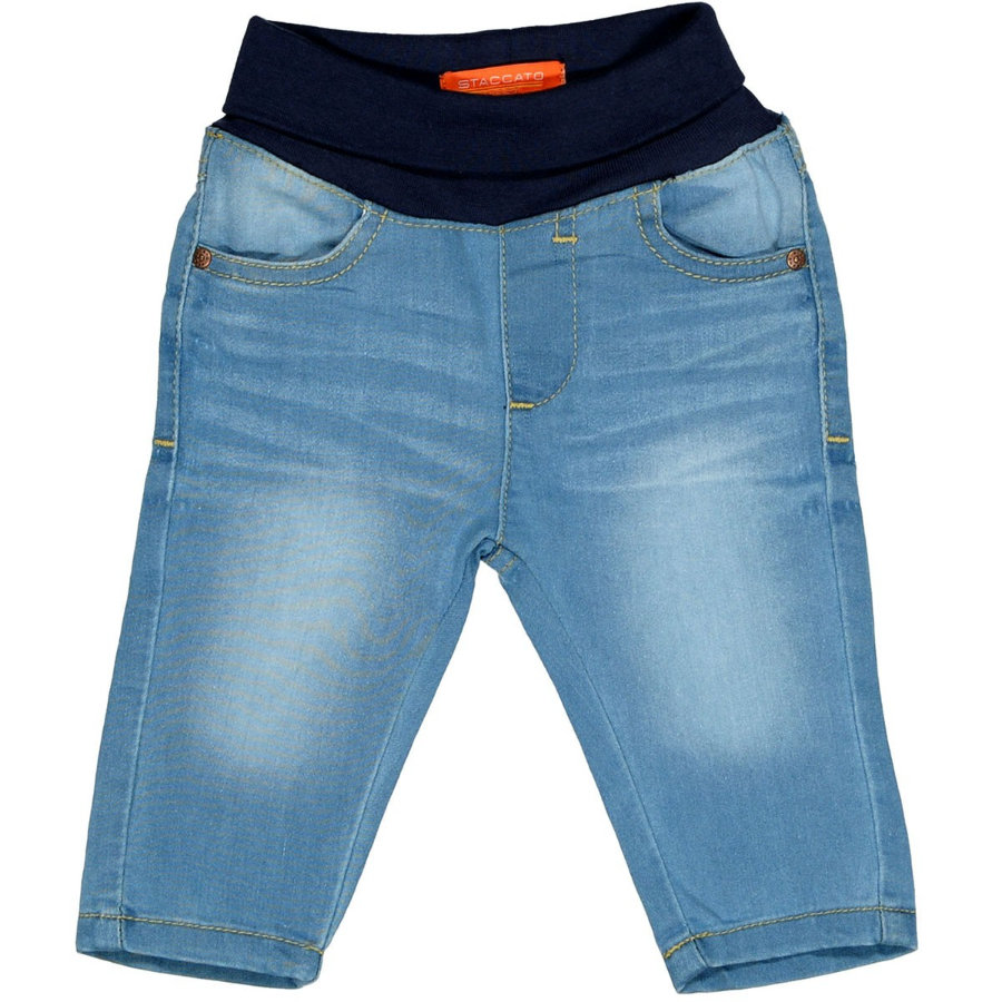 STACCATO Jeans mid blue denim