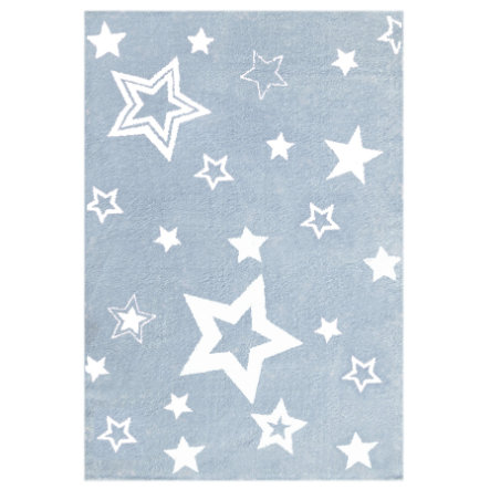 LIVONE Kinderteppich Love Rugs Starlight blau/weiss 130 x 190 cm