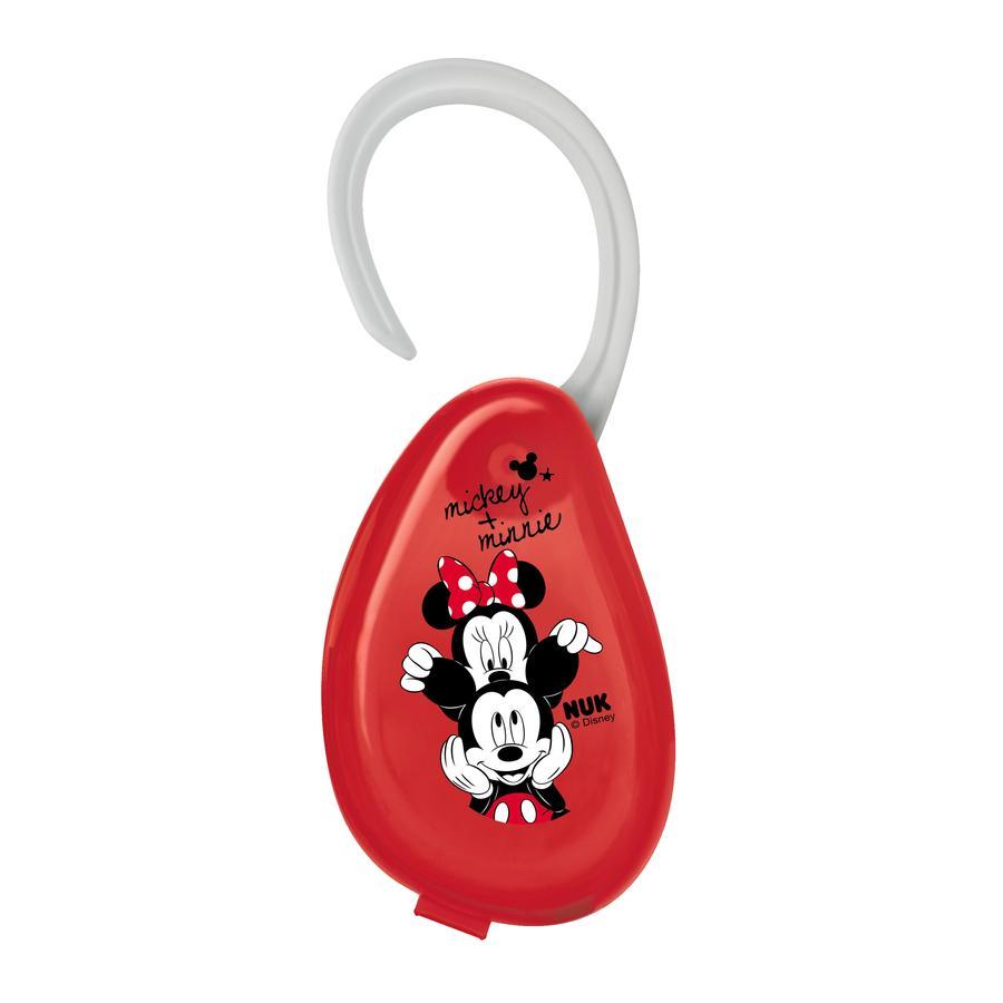 NUK Pojemnik Etui na smoczek  motyw: Disney Myszka Mickey i  Minnie