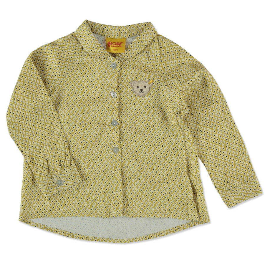 Steiff Girls Bluse yellow