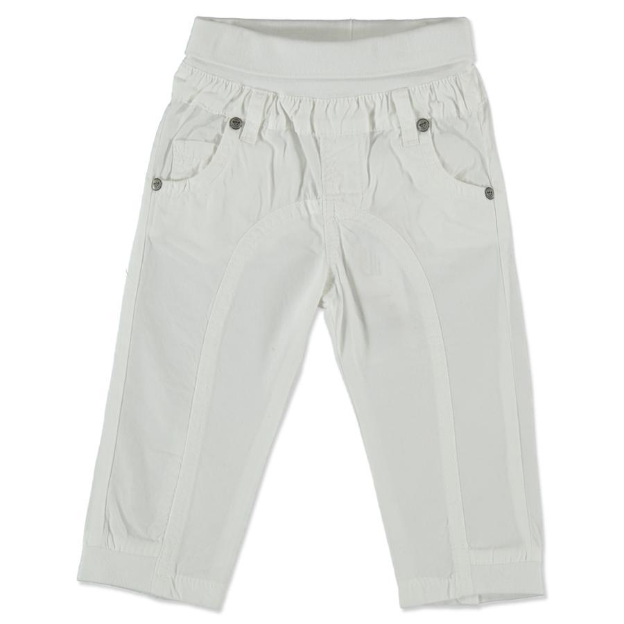 Steiff Pantalon en tissu blanc