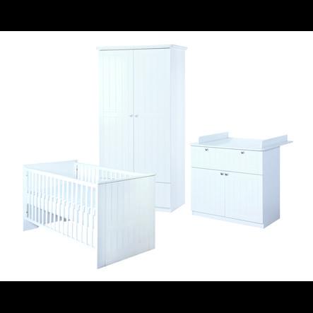 roba Ensemble lit enfant, armoire 2 portes, commode à langer Dreamworld 3