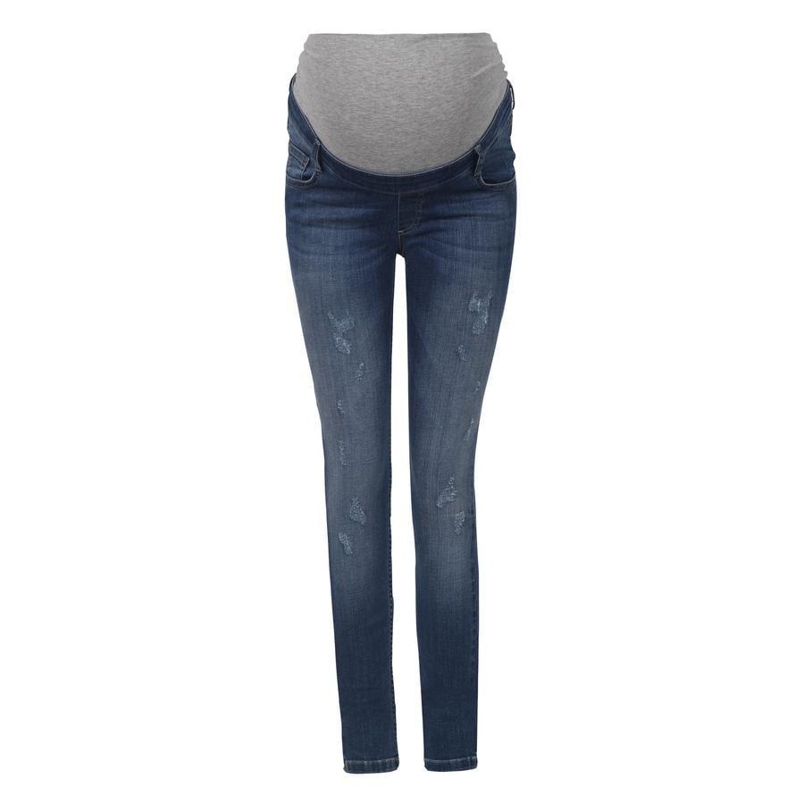 bellybutton Zwangerschapsbroek jeans met over de tailleband